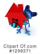 Blue Frog Clipart #1298371
