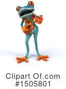 Blue Frog Clipart #1505801 by Julos