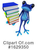 Blue Frog Clipart #1629350 by Julos