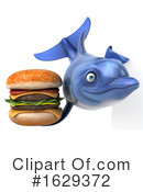 Blue Frog Clipart #1629372 by Julos