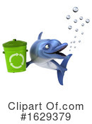 Blue Frog Clipart #1629379 by Julos