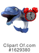 Blue Frog Clipart #1629380 by Julos