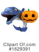 Blue Frog Clipart #1629391 by Julos