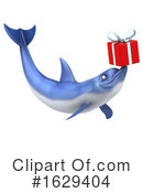Blue Frog Clipart #1629404 by Julos