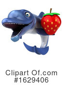 Blue Frog Clipart #1629406 by Julos