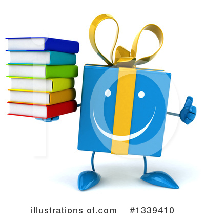 Blue Gift Clipart #1339410 by Julos