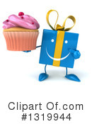 Blue Gift Clipart #1319944 by Julos