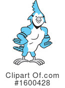 Blue Jay Clipart #1600428 by Johnny Sajem