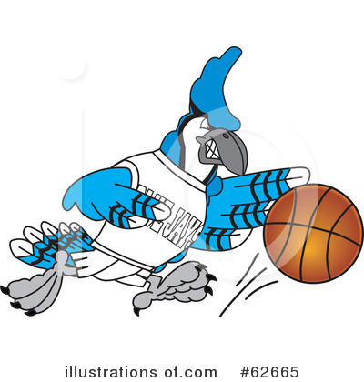 Basketball Clipart #62665 by Toons4Biz