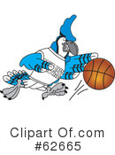 Blue Jay Mascot Clipart #62665 by Toons4Biz