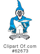 Blue Jay Mascot Clipart #62673 by Toons4Biz
