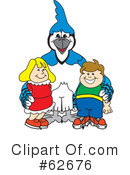 Blue Jay Mascot Clipart #62676 by Toons4Biz