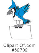 Blue Jay Mascot Clipart #62702 by Toons4Biz