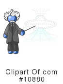 Blue Man Clipart #10880 by Leo Blanchette