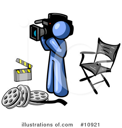 Director Clipart #10921 by Leo Blanchette