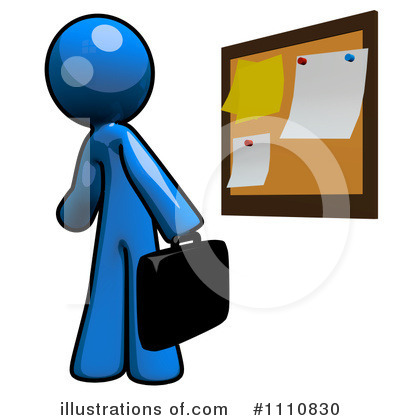 Bulletin Board Clipart #1110830 by Leo Blanchette