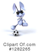 Blue Rabbit Clipart #1282265