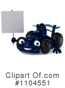Blue Race Car Clipart #1104551 by Julos