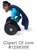Blue Super Hero Clipart #1296306 by Julos