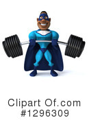 Blue Super Hero Clipart #1296309 by Julos