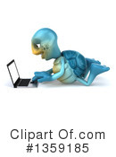 Blue Tortoise Clipart #1359185 by Julos