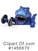 Blue Trex Clipart #1456670 by Julos