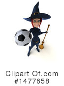 Blue Witch Clipart #1477658 by Julos