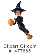 Blue Witch Clipart #1477666 by Julos