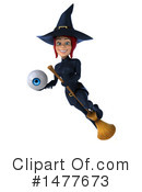 Blue Witch Clipart #1477673 by Julos