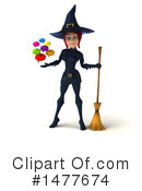 Blue Witch Clipart #1477674 by Julos