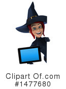 Blue Witch Clipart #1477680 by Julos