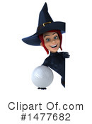 Blue Witch Clipart #1477682 by Julos