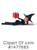Blue Witch Clipart #1477683 by Julos