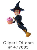 Blue Witch Clipart #1477685 by Julos