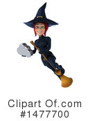 Blue Witch Clipart #1477700 by Julos