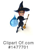 Blue Witch Clipart #1477701 by Julos