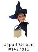 Blue Witch Clipart #1477819 by Julos