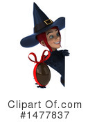 Blue Witch Clipart #1477837 by Julos