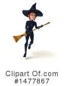 Blue Witch Clipart #1477867 by Julos