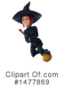 Blue Witch Clipart #1477869 by Julos