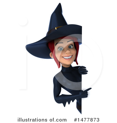 Blue Witch Clipart #1477873 by Julos
