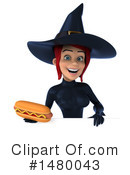 Blue Witch Clipart #1480043 by Julos