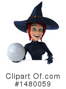 Blue Witch Clipart #1480059 by Julos