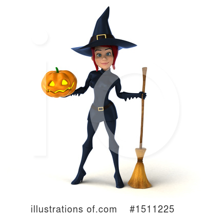 Blue Witch Clipart #1511225 by Julos