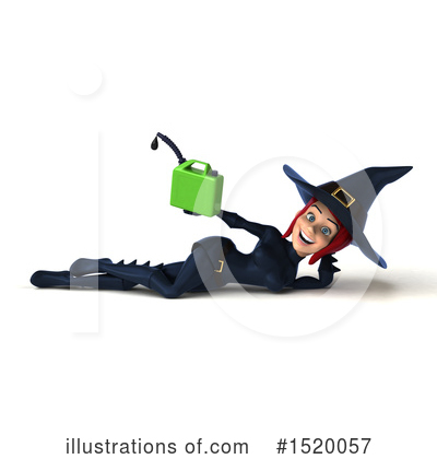 Blue Witch Clipart #1520057 by Julos