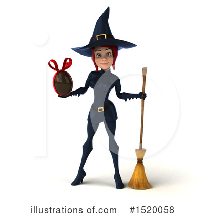 Blue Witch Clipart #1520058 by Julos