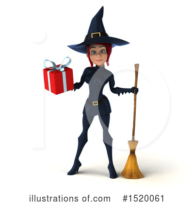 Blue Witch Clipart #1520061 by Julos