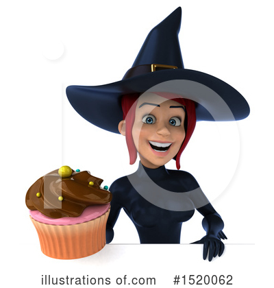 Blue Witch Clipart #1520062 by Julos