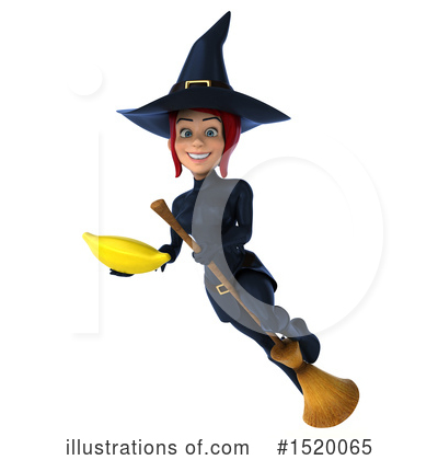 Blue Witch Clipart #1520065 by Julos