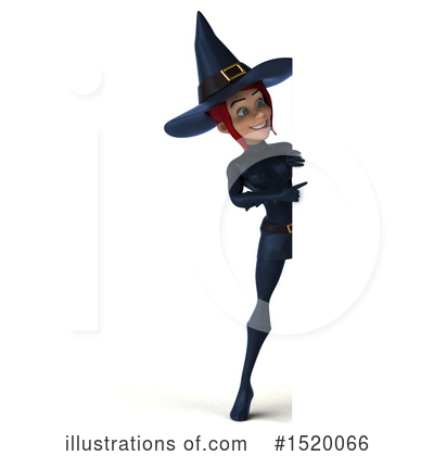 Blue Witch Clipart #1520066 by Julos